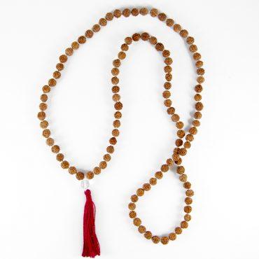 Rudraksha mala and jewelrya for balancing body and mind. 100% natural