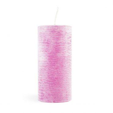 Nježna roza svijeća