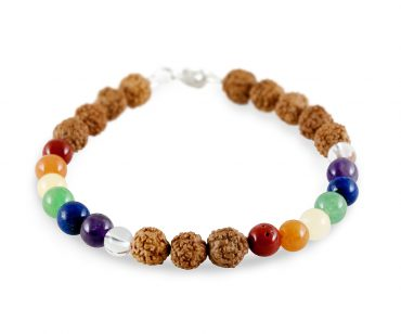 Rudraksha mala and jewelrya for balancing body and mind. 100% natural